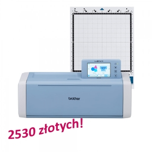 PLOTER TNĄCY BROTHER SDX1200 + GRATIS MATA CADXMATLOW12