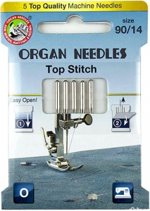 Igły ORGAN 130/705H top stitch ECO BOX