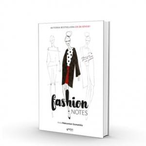 "Notatnik do projektowania ubrań ""Fashion Notes"""