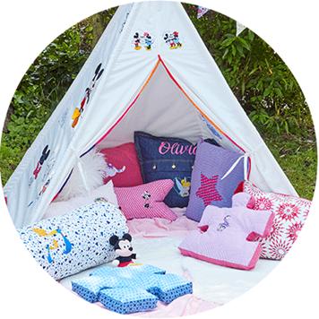 Kolorowy namiot